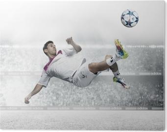 Stampa su Alluminio (Dibond) Leo Messi