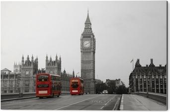 Stampa su Alluminio (Dibond) Palazzo di Westminster