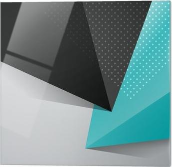Stampa su vetro Blu e nero di sfondo disegno astratto - Risorse Grafiche