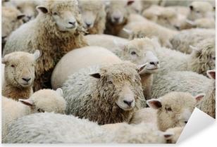 羊 Pixerstick Sticker