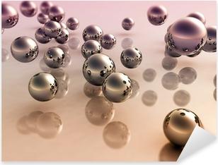 3D Balls Pixerstick Sticker