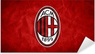 A.C. Milan Pixerstick Sticker