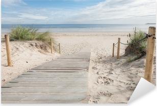 A path to the beach Pixerstick Sticker