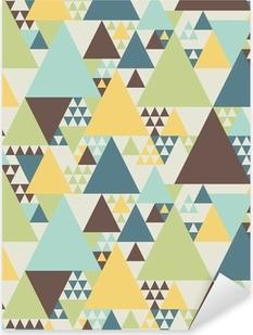Pixerstick Sticker Abstract geometrisch patroon # 2