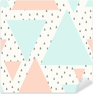Pixerstick Sticker Abstract geometrisch patroon