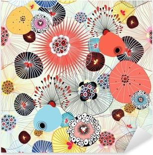 abstract texture Pixerstick Sticker