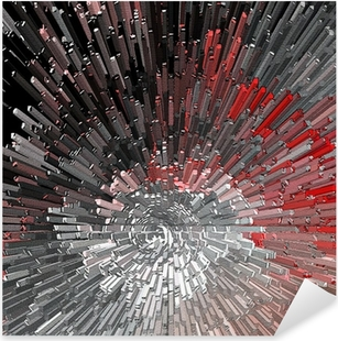 Abstract textured background. Pixerstick Sticker