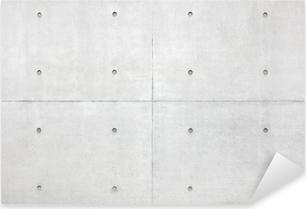 Sticker Pixerstick Abstrait arrière-plan, gris mur de ciment