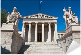 Academy of Athens. Athens, Greece. Pixerstick Sticker