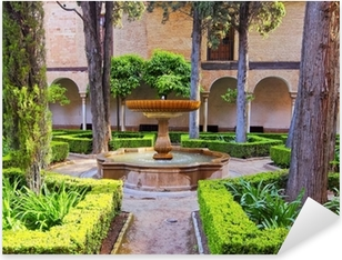 Pixerstick Sticker Alhambra in Granada, Spanje