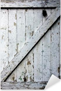 Pixerstick Sticker Alte Tür