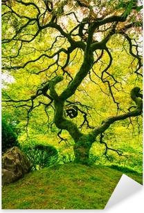 Amazing Green Tree Pixerstick Sticker