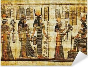 ancient egyptian parchment Pixerstick Sticker