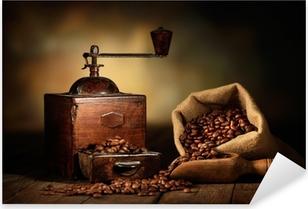 antico macinino da caffè Pixerstick Sticker