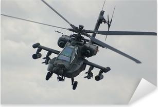 Apache helicopter Pixerstick Sticker