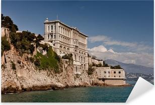 Aquarium ou Musee oceanographique de Monaco (Monte Carlo) Pixerstick Sticker