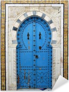 Arab door Pixerstick Sticker