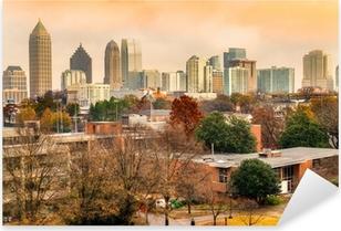 Atlanta, Georgia, USA Pixerstick Sticker