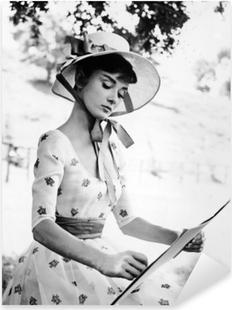 Pixerstick Sticker Audrey Hepburn