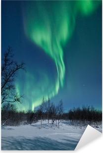 Pixerstick Sticker Aurora Borealis in Zweden