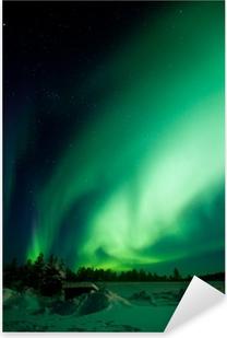 Sticker Pixerstick Aurora Borealis (Northern Lights)