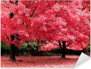 autumn fantasy Pixerstick Sticker