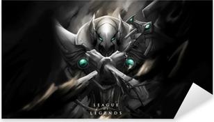 Sticker Pixerstick Azir - League of Legends