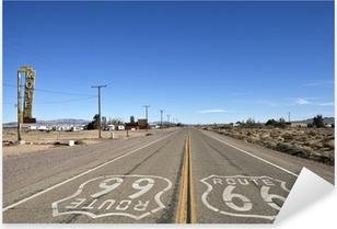 Bagdad California - Historic Route 66 Pixerstick Sticker