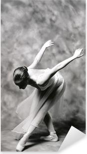 bailarina 2 Pixerstick Sticker