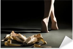 Pixerstick Sticker Ballet schoes