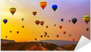 Sticker Pixerstick Ballons CappadociaTurkey.