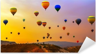 balloons CappadociaTurkey. Pixerstick Sticker