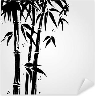 Sticker Pixerstick Bambou dans le style chinois.