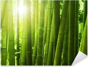 Sticker Pixerstick Bambou foret