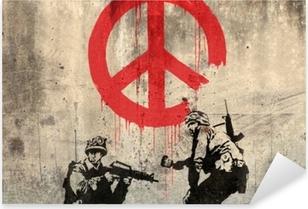 Pixerstick Sticker Banksy