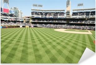 Baseball Field Pixerstick Sticker