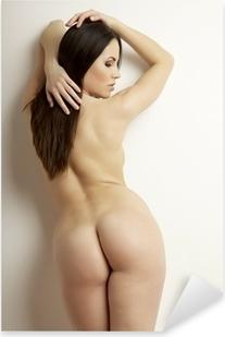 beautiful adult sensuality naked woman Pixerstick Sticker