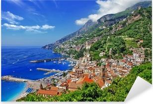 beautiful Amalfi coast, Italy Pixerstick Sticker