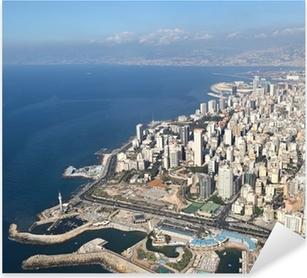 Sticker Pixerstick Beyrouth, Liban