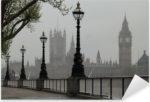 Big Ben & Houses of Parliament Pixerstick Sticker