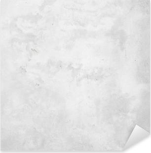 Sticker Pixerstick Blanc mur de béton