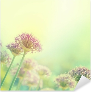 Blühende Zwiebeln Pixerstick Sticker
