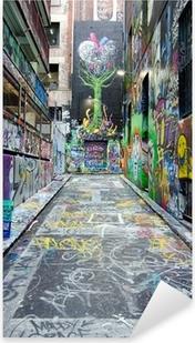 Sticker Pixerstick Bonnetier Lane - Melbourne