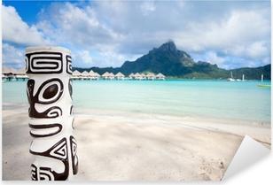 Sticker Pixerstick Bora Bora