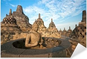 Borobudur Temple, Yogyakarta, Java, Indonesia. Pixerstick Sticker
