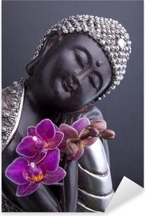 Bouddha et Sérénité Pixerstick Sticker