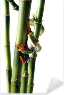 Bright Treefrog Pixerstick Sticker