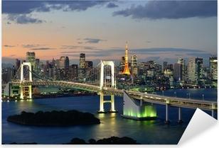 Pixerstick Sticker Bucht von Tokyo