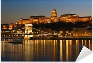 Sticker Pixerstick Budapest la nuit.