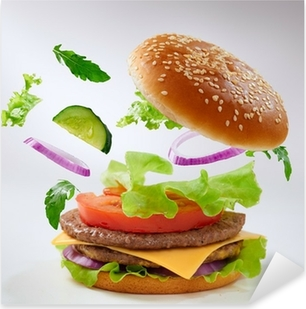Sticker Pixerstick Burger